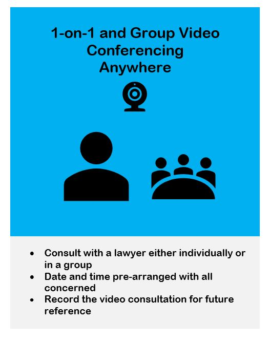 Group Video Conferencing Legal Online